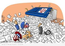 کاریکاتور انتخاباتی / حال و روز بدخواهان نظام پس از انتخابات
