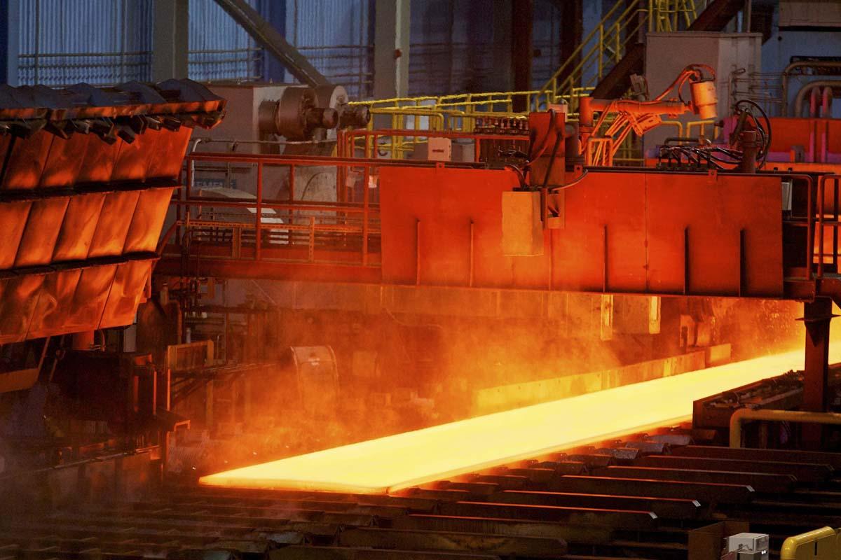 افتتاح کارخانه تولید آهن اسفنجی میانه  با حضور معاون اول رئیس جمهور