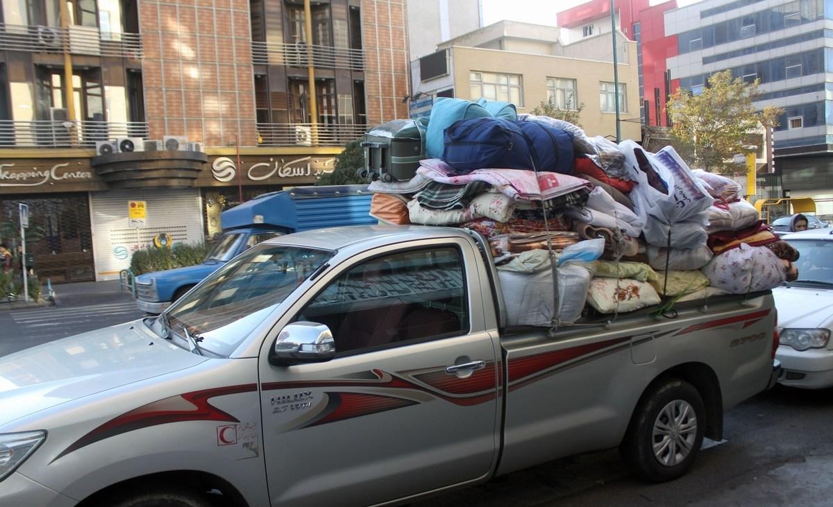 ارسال کمک های واحدهای تولیدی آذربایجان شرقی به زلزله زدگان