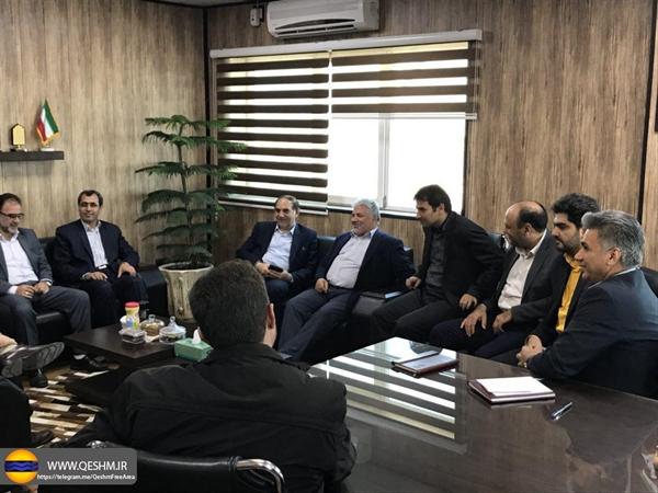 تشریح رویه های گمرکی منطقه آزاد قشم در نشست با مدیرعامل ارس