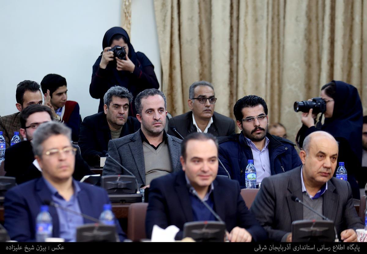 گزارش تصویری از نشست مطبوعاتی استاندار آذربایجان شرقی با اهالی رسانه