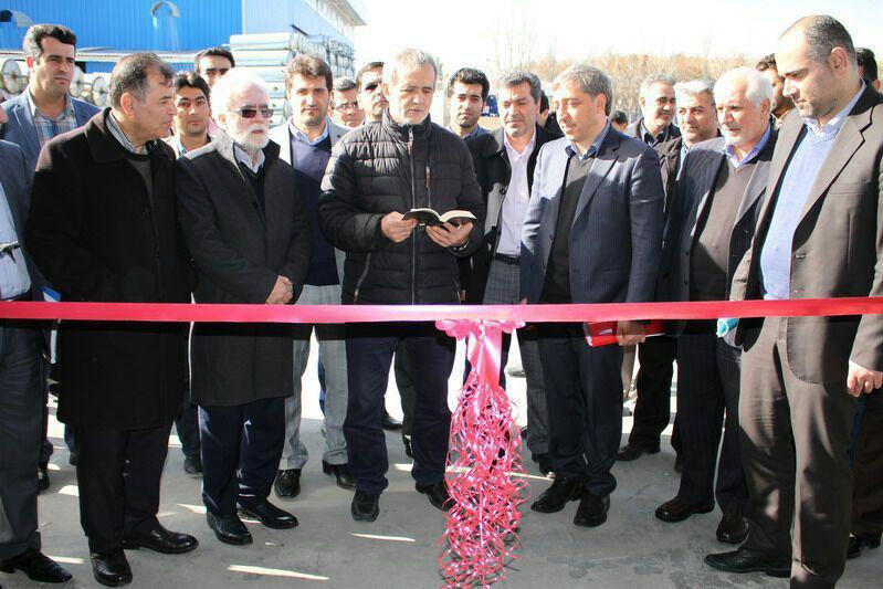 بهره برداری از ۶ طرح صنعتی و تولیدی در اذربایجان شرقی