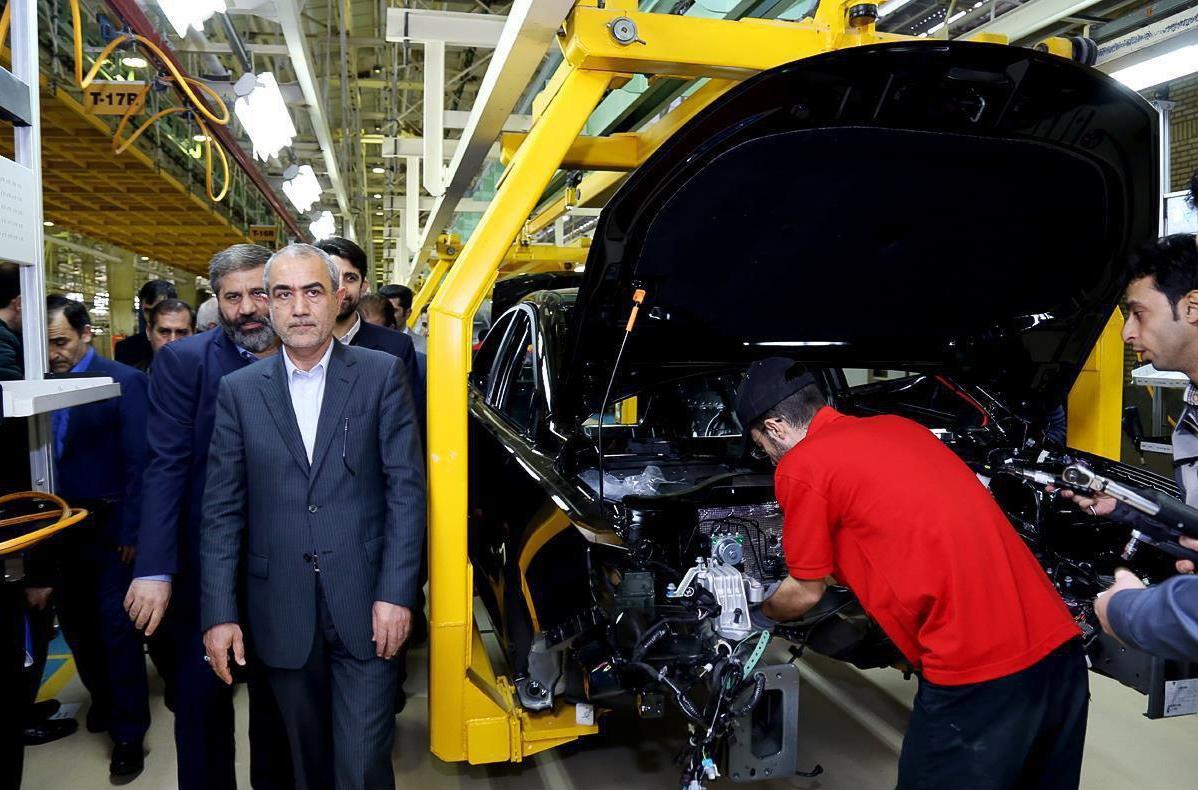 گزارش تصویری از بازدید استاندار آذربایجان شرقی از گروه صنعت خودرو آذربایجان