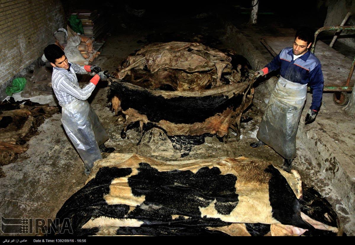 صنعت تبریز آلایندگی صنایع چرم تبریز را بررسی می کند.