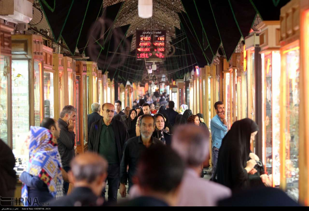 بازار امیر تبریز در قاب تصویر