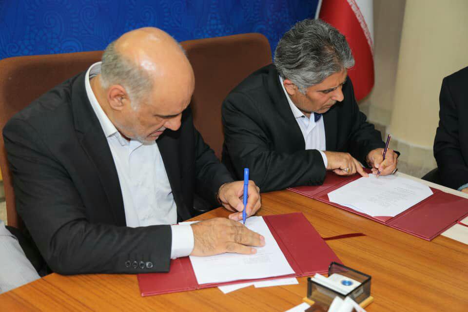 تفاهم نامه احداث خط آهن جلفا- قلی بیگلو منعقد شد