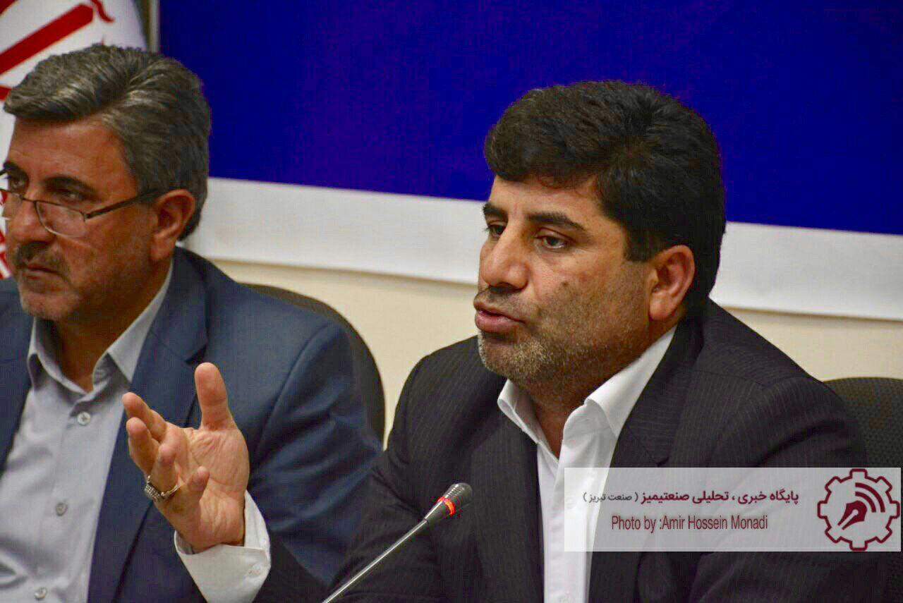 نشست خبری رئیس سازمان جهاد کشاورزی آذربایجان شرقی