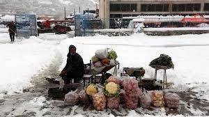 تداوم بی ثباتی بازار میوه با بارش برف
